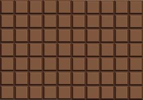 melkchocolade bar vector
