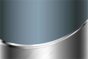 moderne grijze, blauwe en zilveren metallic achtergrond