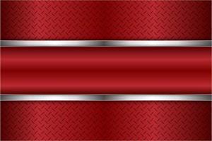 moderne rode en zilveren metalen achtergrond