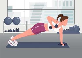 push-ups met halters