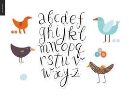 script alfabet set