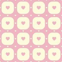 roze harten patroon
