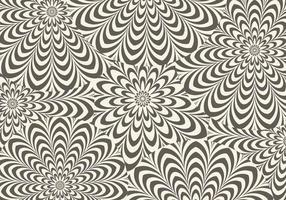 Bruine Hypnotische Vector Achtergrond