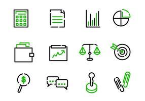 CPA vectoren iconen