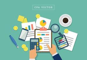 Vrijstaande CPA-vectoren vector