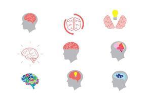 open mind vector iconen