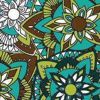 hand getekend zentangle mandala patroon