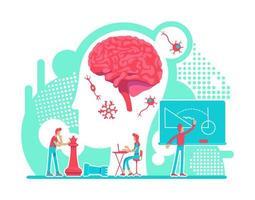 neurologie intelligentie lab vector