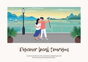 ontdek de banner voor lokaal toerisme