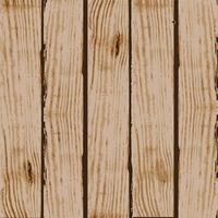 Bord met houten korrel textuur vector