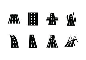 Highway vector icoon