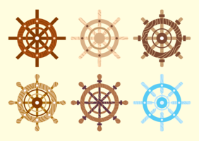 Ships Wheel Vector Pack