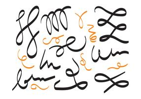 squiggle vector set