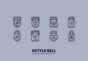 Gratis Kettle Bell Vector