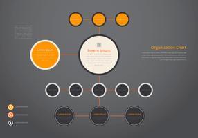 Organisatie Chart, Business Structure vector