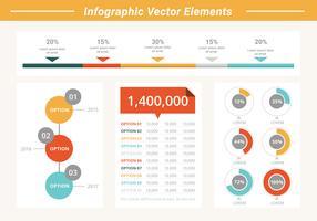 Vrije Business Infographic Elements vector