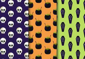 Gratis Naadloze Halloween Patronen vector