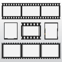 Negatieve fotoverzameling vector