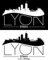vector skyline van lyon