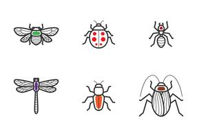 Insect overzicht pictogram
