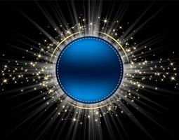 Cirkel met Stardust Vector