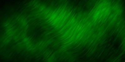 donkergroene lay-out met wrange lijnen.