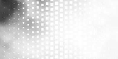 lichtgrijs patroon in vierkante stijl. vector