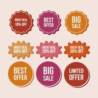 Flash-tags voor vectorprijzen