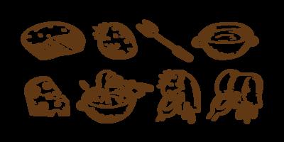 Fondue iconen Vector