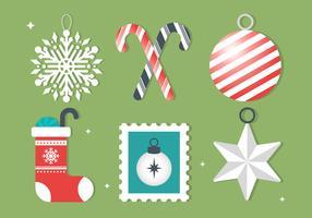 Gratis Vector Christmas Design Elements