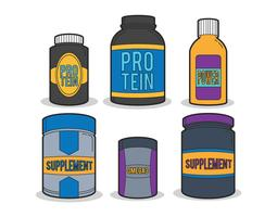 Supplementen vector set
