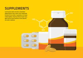 Supplementen Gratis Vector