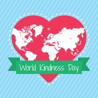 wereld vriendelijkheid dag vector