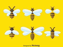 platte hornets colectie vector