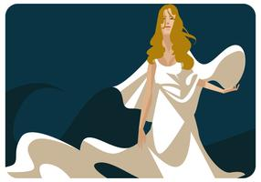 Aphrodite Illustratie Vector