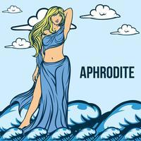 Aphrodite Illustratie Vector
