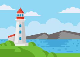 Gratis Cove Lighthouse Vector