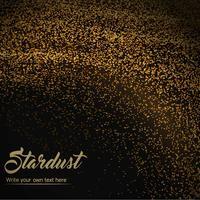 Vector Stardust achtergrond