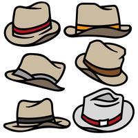 Vector Set van Panama kleur iconen