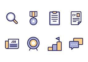 werk zoeken pictogram