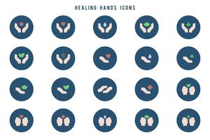 Gratis genezing handen vectoren