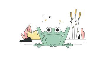 Gratis Frog Vector