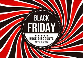 Promotie Black Friday-illustratie