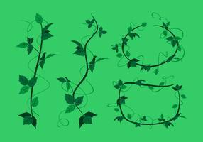 Poison Ivy Trendils Gratis Vector