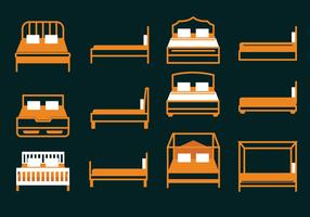 Beddengoed Icon Vector Pack