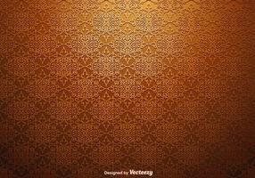 Vector naadloze bloemendamastpatroon