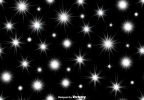 Vector NAADLOOS Patroon van Witte Radianties