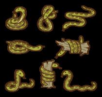 anaconda cartoon vector
