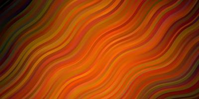 oranje sjabloon met lijnen.