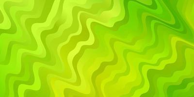 groene achtergrond met gebogen lijnen.